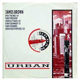 James Brown - Funky Drummer / She's The One