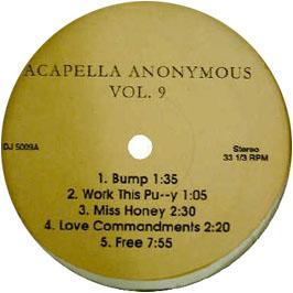 Acappella Anonymous - Volume 9