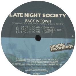 Late Night Society - Back In Town