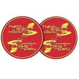 Htfr Slipmats - Diablo Red With Gold Logo