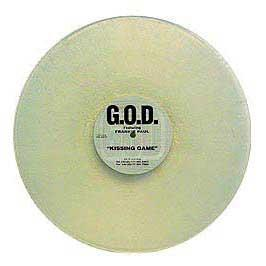 God Feat Frankie Paul - Kissing Game (Clear Vinyl)