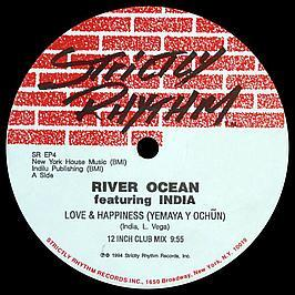 River Ocean & India - The Tribal EP / Love & Happiness