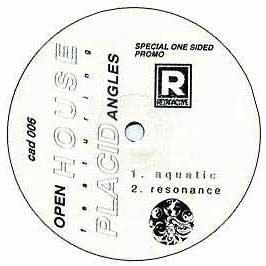 Open House & Placid Angles - Aquatic / Resonance (One Sided Promo)