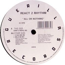 React 2 Rhythm - All Or Nothing