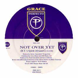 Grace - Not Over Yet (Bt Mixes)