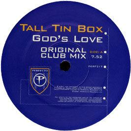 Tall Tin Box - God's Love