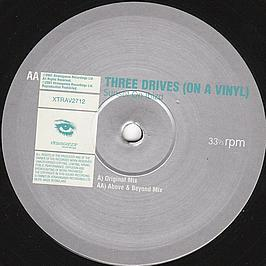 Three Drives (On A Vinyl) - Sunset On Ibiza
