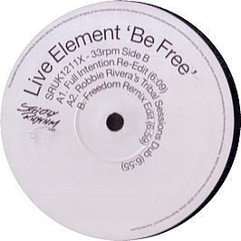 Live Element  - Be Free (Remixes)