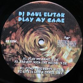 DJ Paul Elstak - Play My Game