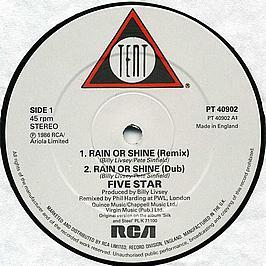 5 Star - Rain Or Shine (Remixed Version)
