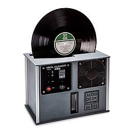 Audio Desk Systeme Vinyl Cleaner - Pro Record Cleaning Machine (Black)