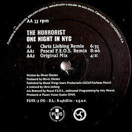 The Horrorist - One Night In NYC