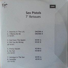 "Sex Pistols - 7"" Reissues"