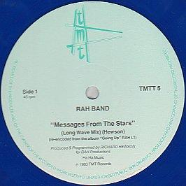 Rah Band - Messages From The Stars (Blue Vinyl)