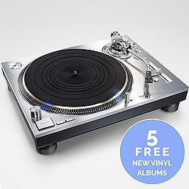Technics SL-1200G - Direct Drive Turntable (Silver)