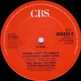 C + C Music Factory Featuring Freedom Williams - Gonna Make You Sweat (Everybody Dance Now)