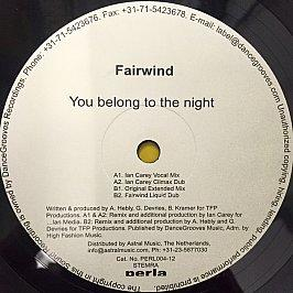 Fairwind - You Belong To The Night