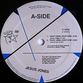 Jesus Jones - Right Here, Right Now / International Bright Young Thing