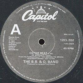 The B.B. & Q. Band - On The Beat