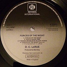 D.C. LaRue - Forces Of The Night
