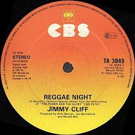Jimmy Cliff - Reggae Night (Special Version)
