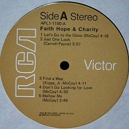 Faith, Hope & Charity - Faith, Hope & Charity