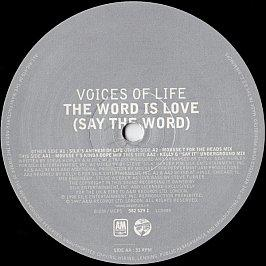 Voices Of Life - The Word Is Love (Say The Word)