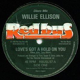 Willie Ellison - Love's Got A Hold On You