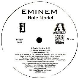 Eminem - Role Model / Cum On Everybody