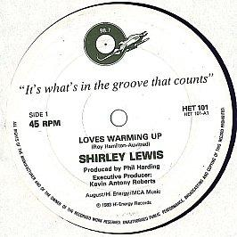 Shirley Lewis - Love's Warming Up