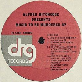 Alfred Hitchcock - Presents Music To Be Murdered By