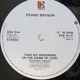 Peabo Bryson - Take No Prisoners (In The Game Of Love) / Love Means Forever