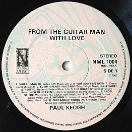 Paul Keogh - From The Guitar Man With Love
