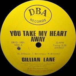 Gillian Lane - You Take My Heart Away