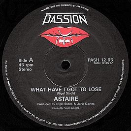 Astaire - What Have I Got To Lose