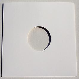 "12"" Cardboard Sleeves - White Album Sleeves (5Mm Spine) (Pack Of 10)"