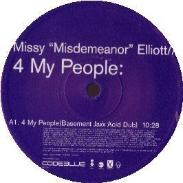 Missy Elliot - 4 My People (Unreleased Remix)