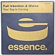 FULL INTENTION & SHENA - YOUR DAY IS COMING - ESSENCE - VINYL RECORD - MR100045