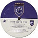 GRACE - NOT OVER YET (REMIX) - PERFECTO - VINYL RECORD - MR10039