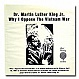 MARTIN LUTHER KING - LAST GREAT SPEECHES - PAUL WINLEY - VINYL RECORD - MR101255