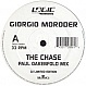 GIORGIO MORODER - THE CHASE - LOGIC - VINYL RECORD - MR108274
