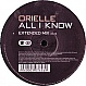 ORIELLE - ALL I KNOW - INCENTIVE - VINYL RECORD - MR115796