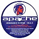 CHRIS C - WITH A VENGANCE - APACHE RECORDS 2 - VINYL RECORD - MR116008