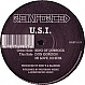 U.S.I - KING OF DUBROCK - REINFORCED - VINYL RECORD - MR12393