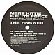 MEAT KATIE & ELITE FORCE  - THE ANSWER - KINGSIZE - VINYL RECORD - MR127442