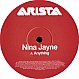 NINA JAYNE - ANYTHING - BMG - VINYL RECORD - MR128706