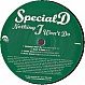 SPECIAL D - NOTHING I WON'T DO / HOME ALONE (REMIX) - DINKY - VINYL RECORD - MR130543