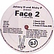 JOHNNY D & NICKY P PRE FACE 2 - OVERHUNG (RED VINYL) - VIBE - VINYL RECORD - MR133267