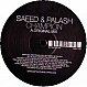 SAEED & PALASH - CHAMPION - DISTINCTIVE - VINYL RECORD - MR134544