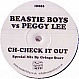 BEASTIE BOYS VS PEGGY LEE - CH-CHECK IT OUT - NO ID - VINYL RECORD - MR134640